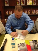 Author Greg Elder Book Signing