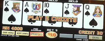 Video Poker Different Than Slots